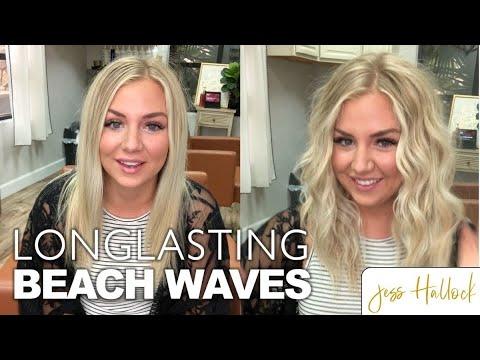 The Perfect 10 Minute Beach Waves Hair Tutorial    Jess Hallock