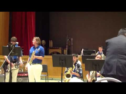 Ballad for a Blue Horn - Jupiter Middle School Band