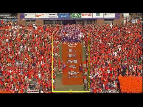 The Official Video Played on PawVision before the Clemson Tigers run down the Hill.