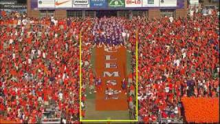 Clemson Football Hill Intro Video