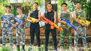 Hihahe Nerf War SWAT & Elite Military Nerf Guns Mercenary Group Nerf War