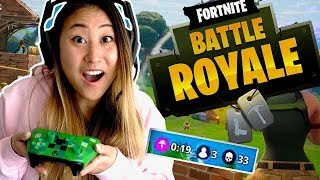 LET'S PLAY FORTNITE!! (BATTLE ROYALE)