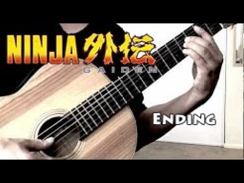 0 Ninja Gaiden (NES)   Ending Theme   Classical Guitar Tabs