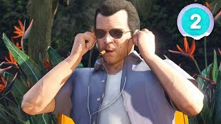 THE FIRST ROBBERY - Grand Theft Auto 5 - Part 2