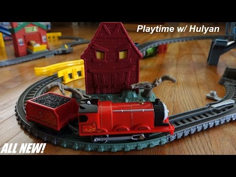 Troublesome Traps Set Playtime - All New Thomas & Friends Trackmaster video