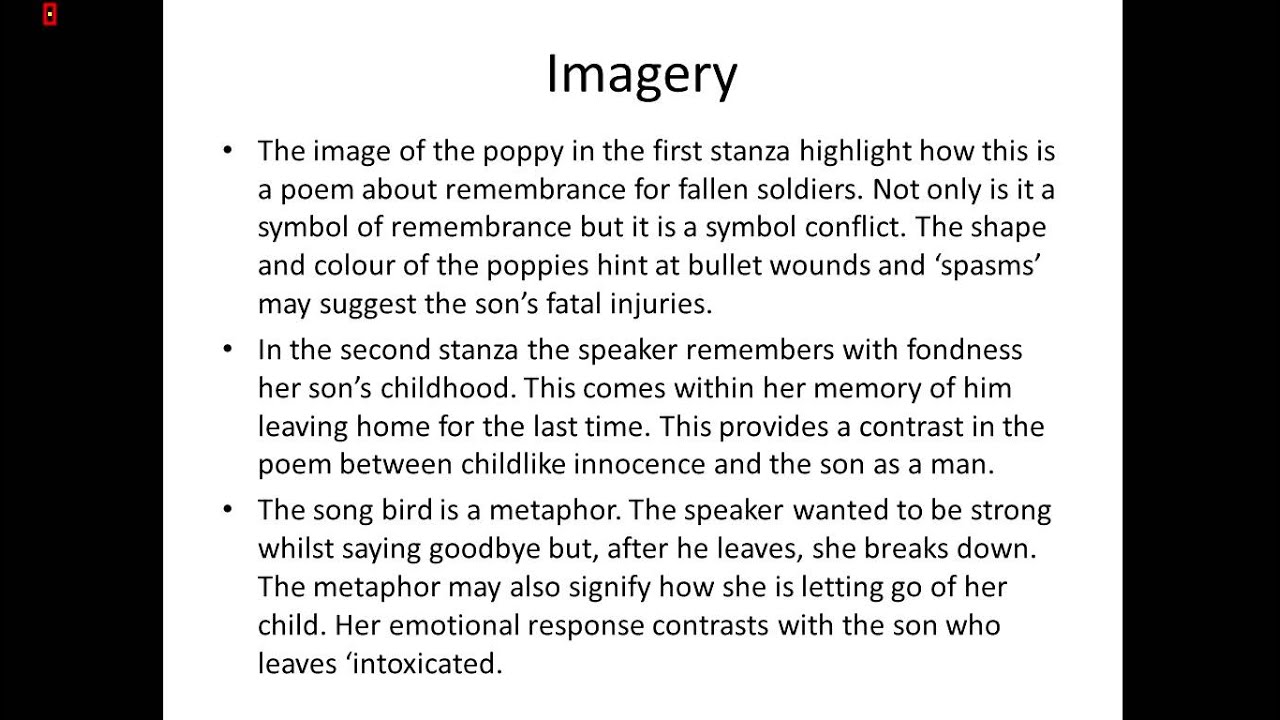 analyze imagery essay Analysis of the imagery and the battle by louis simpson the battle by louis simpson in this essay i am going to analyze some elements of imagery in.