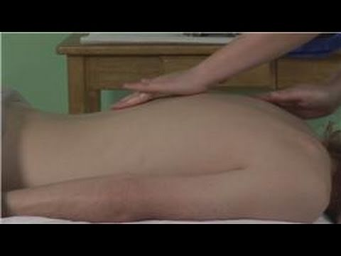 0 Massage Techniques : How to Massage Someone at Home Who Has a Herniated Disc