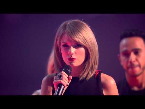 Taylor Swift Wins International Female BRIT Award | BRIT Awards 2015