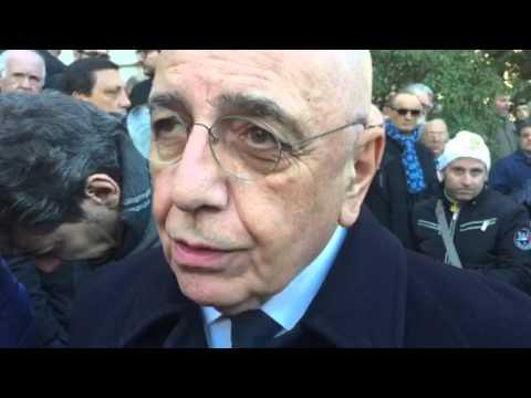 Terni, Adriano Galliani su Ernesto Bronzetti