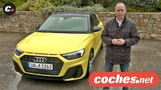 Audi A1 Sportback 2019   Primera prueba / Test / Review en español   coches.net
