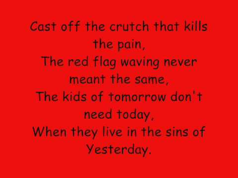 Billy Talent Red Flag Billy Talent Red Flag Lyrics