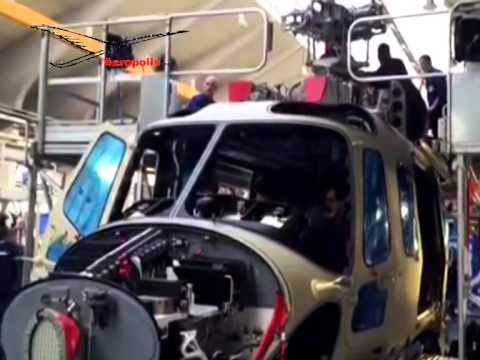 Il Premier Renzi in visita ad AgustaWestland a Vergiate, in provincia di Varese