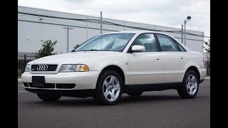 1998 AUDI A4 Quattro 2.8L V6 5-Speed Manual