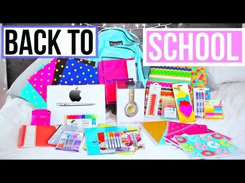 HUGE BACK TO SCHOOL GIVEAWAY!