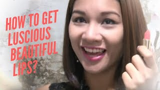 How to get luscious, beautiful lips?💄💋👄 [Beauty Scoop]