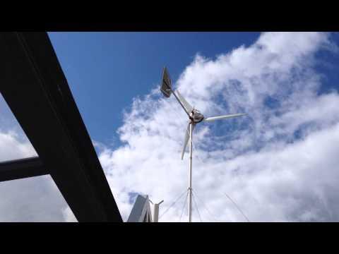 Home Made Windgenerator Trials
