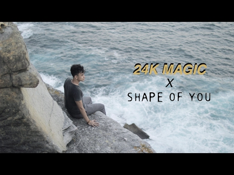 SHAPE OF YOU x 24K MAGIC - ANANTAVINNIE