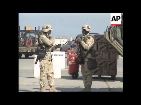 KUWAIT: BUILD UP OF MILITARY PRESENCE CONTINUES (2)