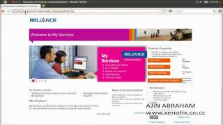 Reliance Online Recharge Site Vulnerability