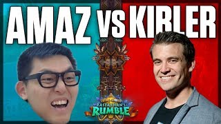 Amaz vs. Kibler Rastakhan's Rumble Showmatch Bo9