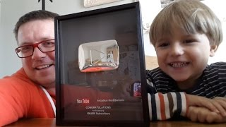 Home Sweet Home and Silver Play Button YouTube Award​​​