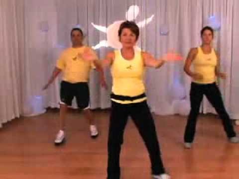 Part 1 - Basic Low Impact Aerobics Complete 20 Minute Workout