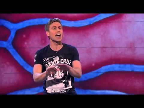 Ebola outbreak UK vs America Russell Howard