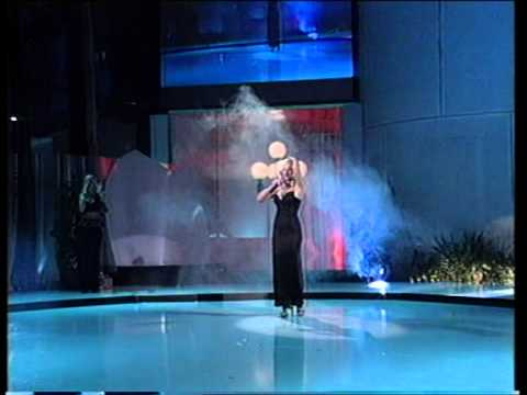 Dona Ares - Ja te noćas ostavljam @ Miss BiH 2002
