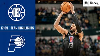 Paul George Drains Seven Three-Pointers in Win vs. Pacers | Honey Highlights