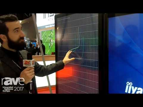 ISE 2017: iiyama Talks About ProLite TF6537UHSC-B1AG Digital Display