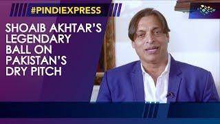 Shoaib Akhtar   Legendary Ball On Pakistan's Dry Pitch   Down Memory Lane