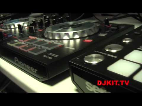 Pioneer DDJ-SB DJ Midi Controller with Serato DJ Intro with DJkit.tv