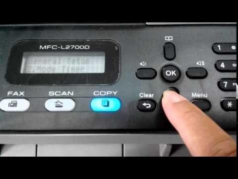 Сброс счетчика тонера Brother DCP L2500d. Мало тонера. Как обнулить Brother DCP L2500d