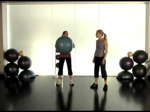 Ballast Ball Training: Wow! Killer Core and Arm Training