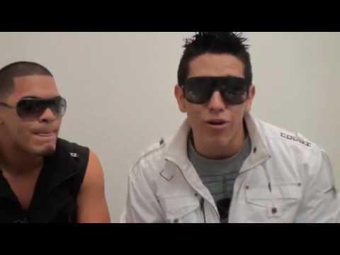Dylan y Lenny Saludando a RitmoUrbano.Net Video