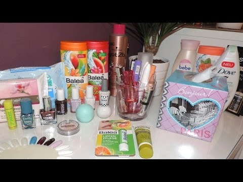 Xxxl Drogeriehaul März 2014 | Dm & Rossmann video