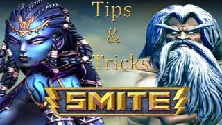 How to succeed in Smite! (Tips/Tricks!)