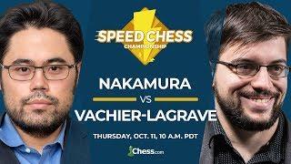 2018 Speed Chess Championship: Nakamura vs Vachier-Lagrave
