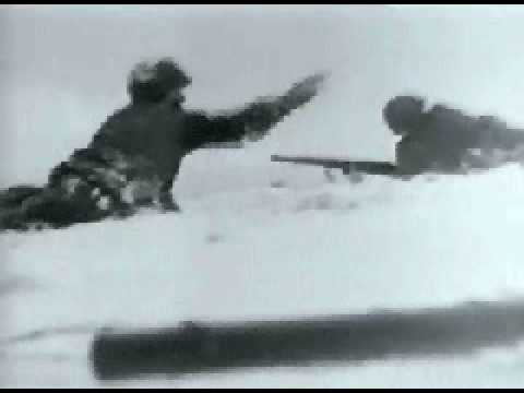 WW II - Battle of the Bulge - Newsreel