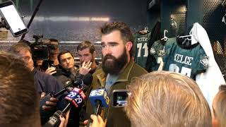 Eagles' Jason Kelce on being in playoff mode