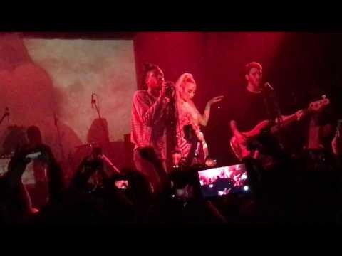 Daniel Caesar feat Kali Uchis - Get You EchoPlex Live 1/29/2017 Los Angeles
