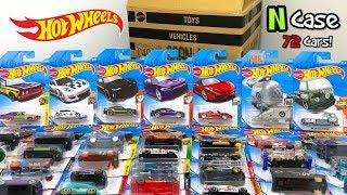 Unboxing Hot Wheels 2018 N Case 72 Car Assortment!