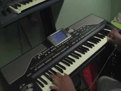afghan keyboard Roman Hassas - Chand Sifarish, Subhan Allah