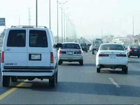 The Saudi Driving Experience. Jubail & Dammam Highways.