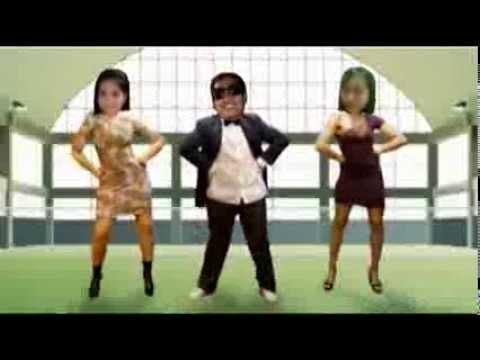 Denes, Sarah and Chatz in Gangnam Style