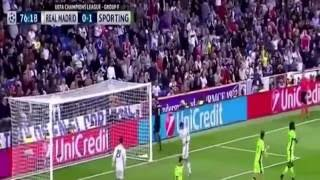 Real Madrid vs Sporting Lisbon 2-1 All Goals & Highlights UEFA Champions League 2016/2017