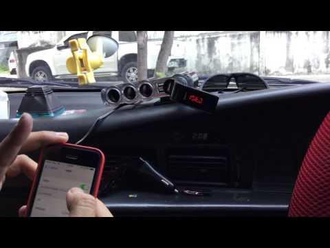 วิธีใช้งาน G7 อุปกรณ์เล่นเพลงผ่านบลูทูธสำหรับรถยนต์ (Bluetooth Car Chager G7)