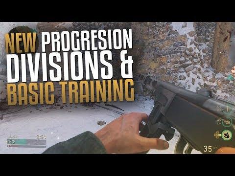 Call of Duty: WW2 Multiplayer Gameplay (NEW PROGRESSION EXPLAINED! DIVISIONS & BASIC TRAINING)