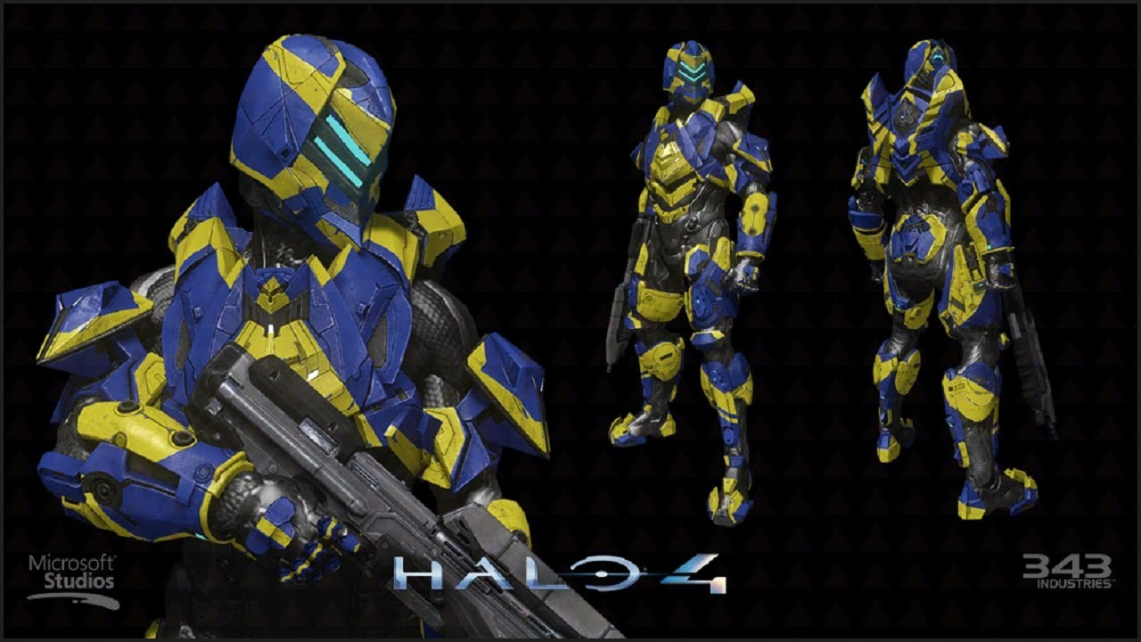 Halo 4 Venator Raptor Armor Set Best Buy Exclusive
