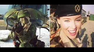 Female Soldiers from around the world NATO,USA,Russia,Germany ,Israel,China, and more..